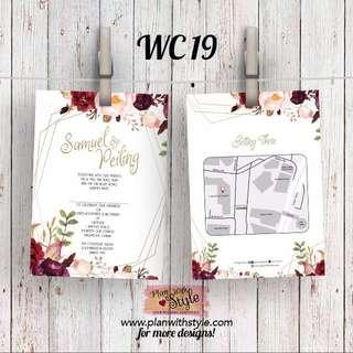 Wedding Card WC19