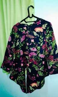 bluse bunga