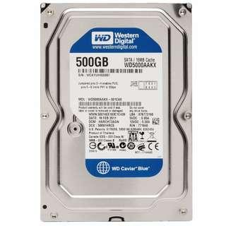 "Western Digital 3.5"" Caviar Blue 500Gb Hard Disk Drive"