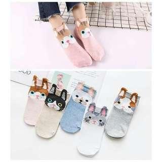 5 in 1 Korean Socks