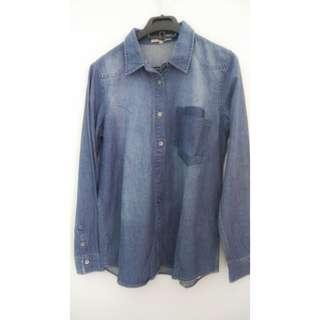 Baju bahan jeans