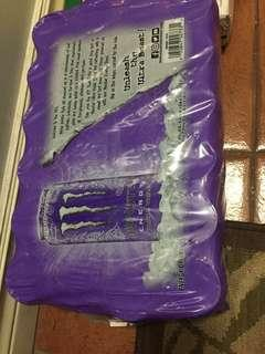 Monster energy drink cases sealed sugar free
