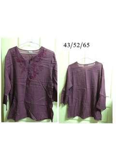 🚚 紫繡花衣