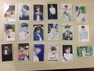 Wanna one park jihoon post card all for $15