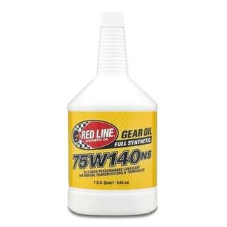 Red Line Gear/ Transmission Oil 75W140NS