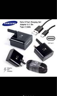 Original Samsung Fast Adaptive Charger Note 8 Set