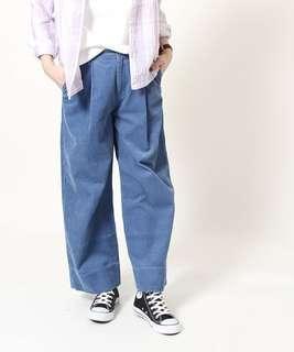 🚚 【全新】Coen輕薄燈芯絨寬褲 質感寬褲 質感燈芯絨
