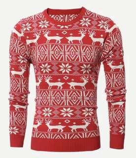 聖誕系列 男士針織衫