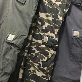 Carhartt 軍褲 $350 for 1 (3色) 30腰