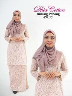 BAJU KURUNG BY DHIA COTTON
