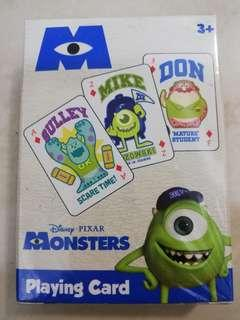 Monsters company playing card 怪獸公司 啤牌