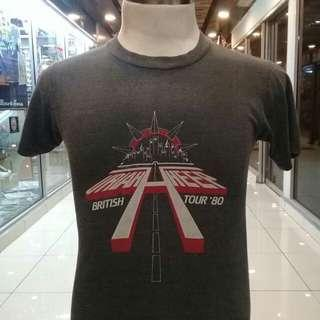 Vintage Uriah Heep. BRITISH TOUR 80