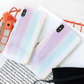 Shiny Iridescent Laser Phone Case