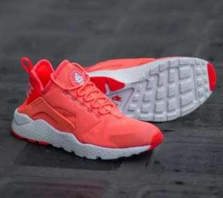 "Brand New Nike Huarache Run Ultra ""Bright Mango"""