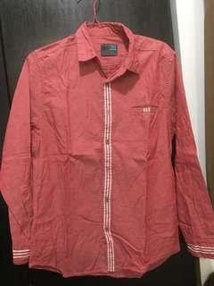 Kemeja men's clothes pink