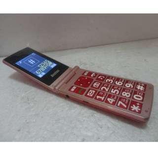 🚚 Benten W198銀髮族折疊老人機 3G 4G 可用,大按鍵、大字體、大音量、LED手電筒,功能都正常,只賣730元