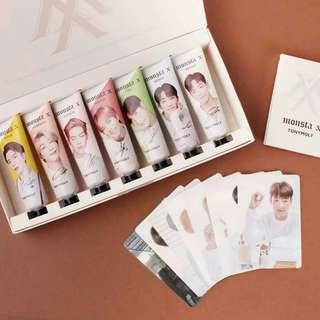 [Pre-order ] OFFICIAL TONY MOLY MONSTA X IM HANDCREAM  SET