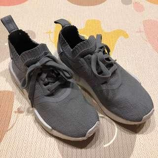 🚚 女鞋 Adidas Originals NMD R1 - 灰/UK5/US6.5