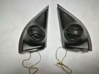 Hertz ML 280 Mille Tweeter Set with Honda Vezel Sail Panels