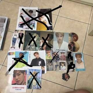 (PRICE REDUCED) WTS WANNA ONE KANG DANIEL COLLECTION