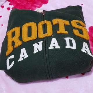Roots連帽外套
