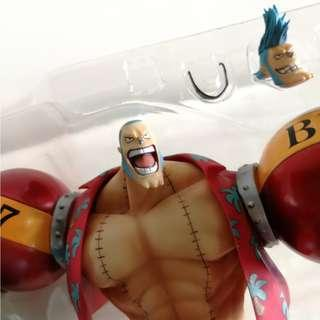 "Figuarts ZERO - Franky The New World Arc Ver. from ""ONE PIECE"""