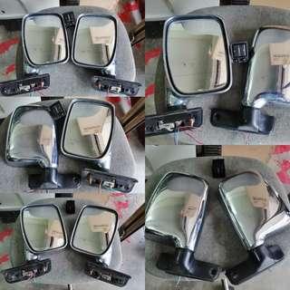 L9 chrome autoflip side mirror for kenari