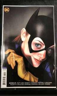 Batgirl 25 Middleton variant