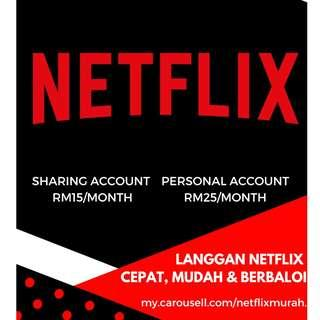 Netflix Premium ULTRA HD! Cheapest! NEW YEAR! RM15 /MONTH