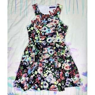 🆕Kitschen Floral Flare Dress #cnyred