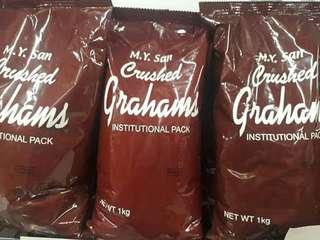 crushed grahams