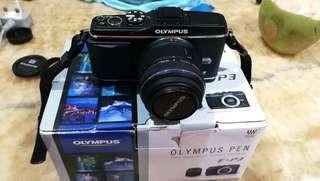 Olympus Pen EP3 body only with full box