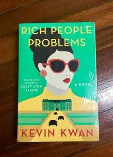 RICH PEOPLE PROBLEMS|| KEVIN KWAN ( Large paperback)