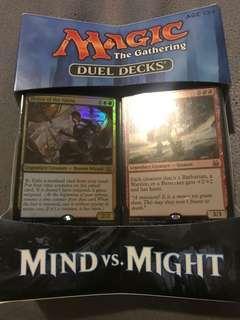 Magic the gathering duel decks mind vs might
