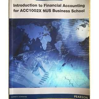 Introduction to Financial Accounting ACC1002X NUS Business School 1st Edition
