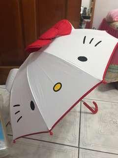 Kitty精美雨傘+贈娃娃