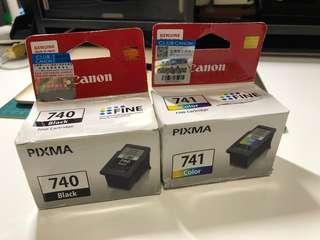 Canon 740+741