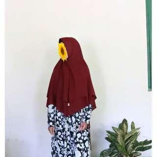 Jilbab Syari Pet
