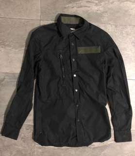 G-Star Raw Black Cargo Line Shirt