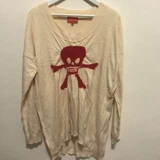 Vivienne Westwood 長袖針織上衣 骷髏頭