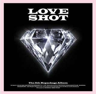 [PO] exo love shot album
