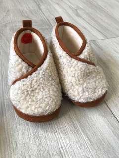 Zara home baby shoes