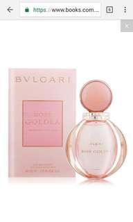 Bvlgarl 寶格麗玫瑰金漾淡香