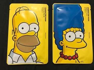 Simpson's face masks