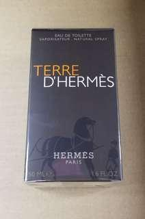 Hermes 50ml大地男士香水