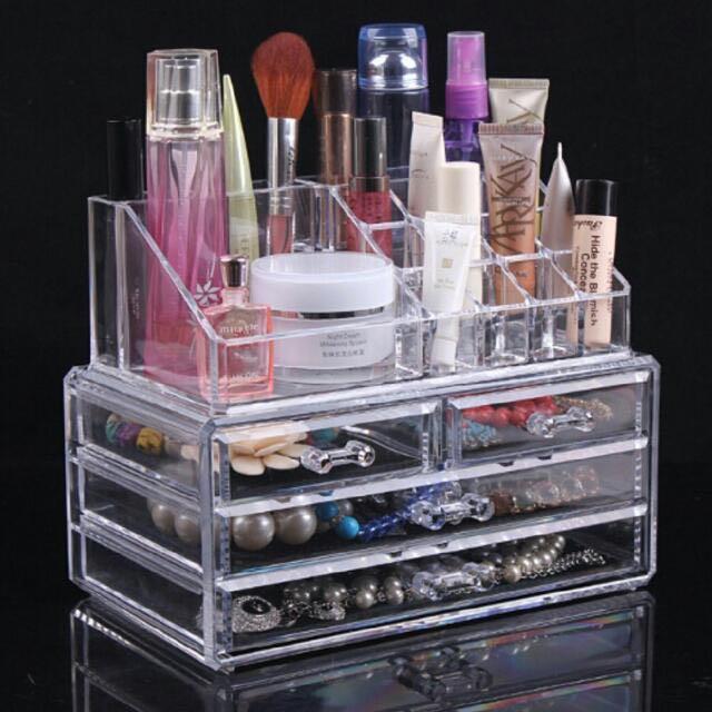 Drawers Makeup Storage Holder Box