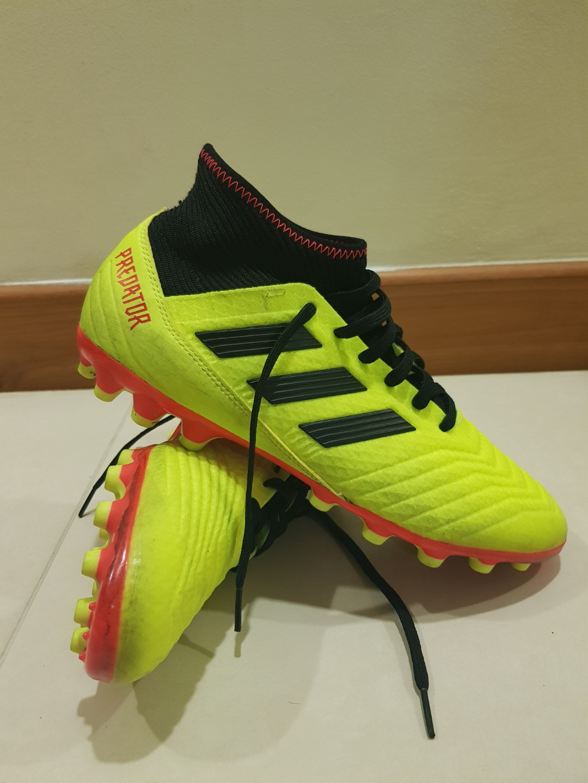 413fb970f Adidas Predator 18.3 AG Soccer Boots, Sports, Sports & Games ...