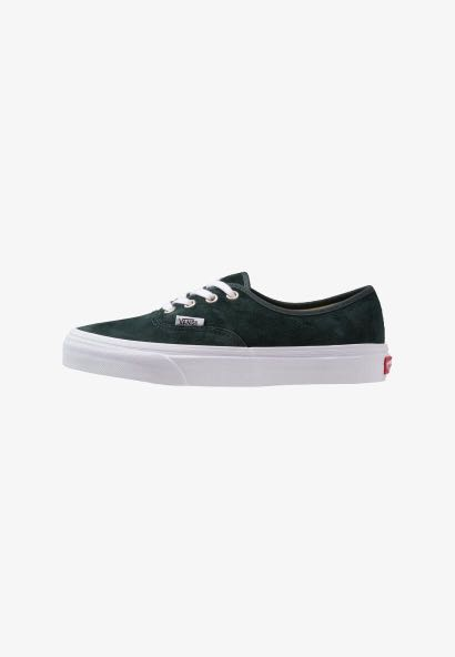 AUTHENTIC Dark Green Vans Sneakers f0a1c3146