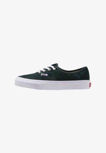 1972844bc2c AUTHENTIC Dark Green Vans Sneakers