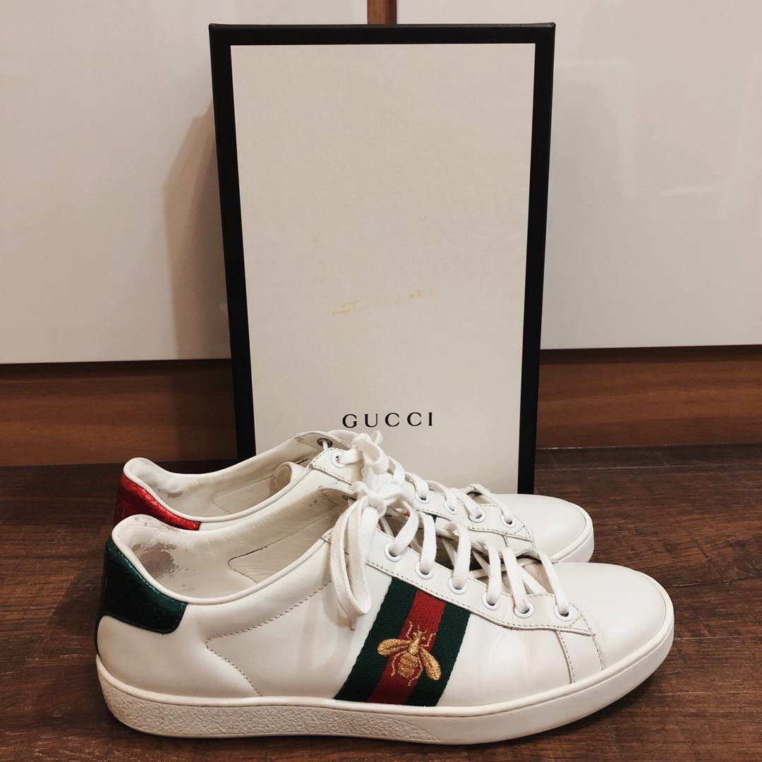 28551355f Authentic Gucci ace bee embroidered sneaker for sale, Men's Fashion ...